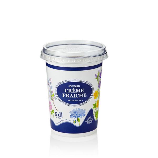 Crème Fraiche 34 %,  0,5 l