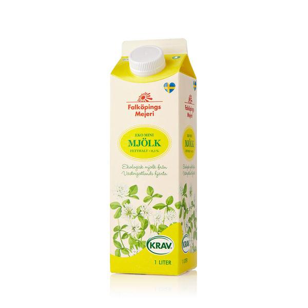 Eko minimjölk 0,1 %