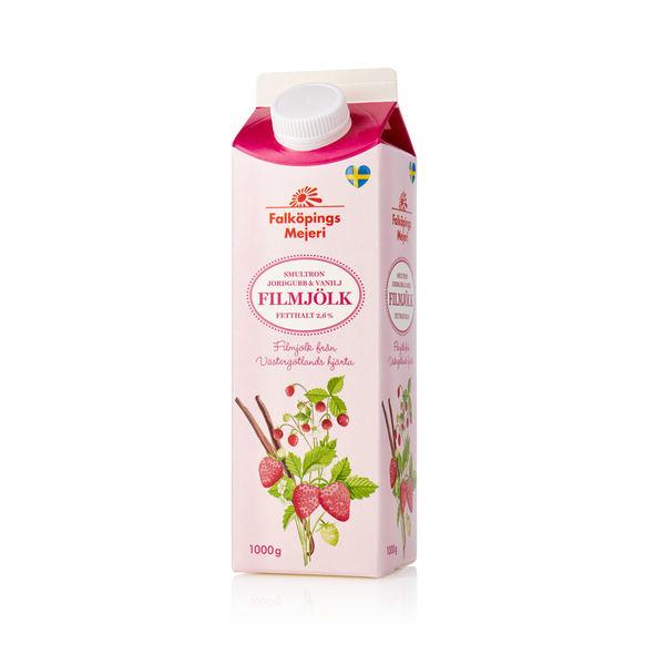 Smultron/jordgubb/vaniljfil 2,6 %