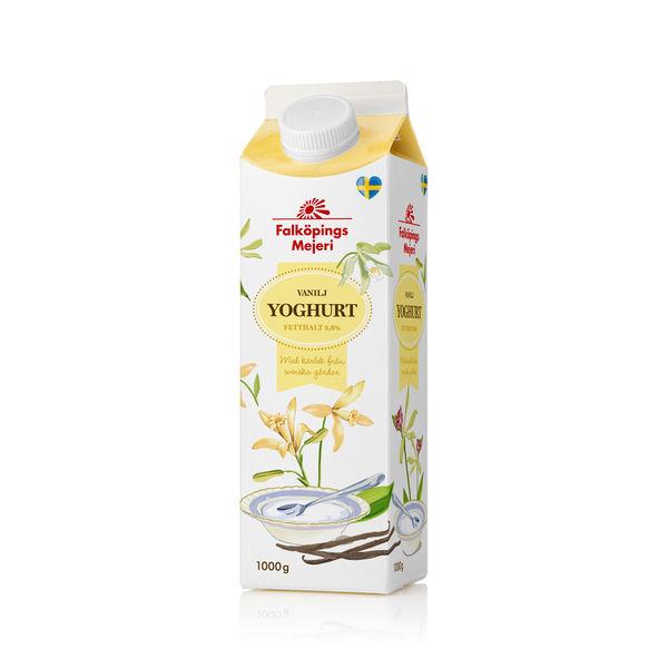 Vaniljyoghurt 2,6 %